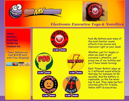Executive Novelty Toys Website