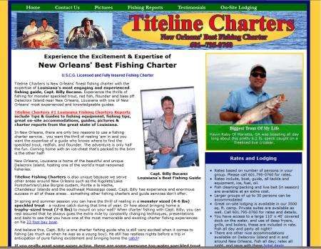 New Orleans Fishing Charters Website